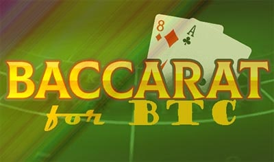 online baccarat for BTC