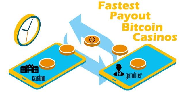 fastest payout bitcoin casino