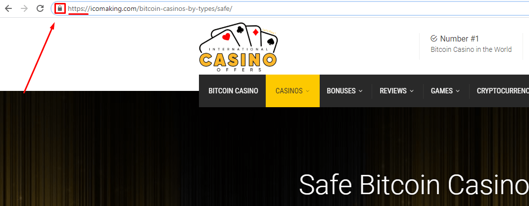 safe bitcoin casino