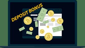 bitcoin casino deposit bonus