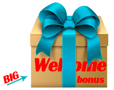 big welcome bonus
