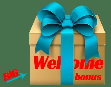 big welcome bonus