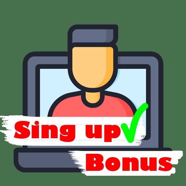 sing up bonus