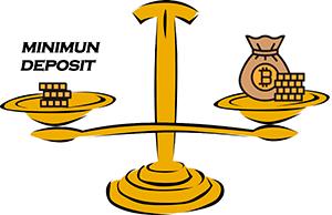 bitcoin casino no minimum deposit