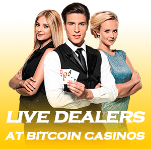 bitcoin casino live dealers