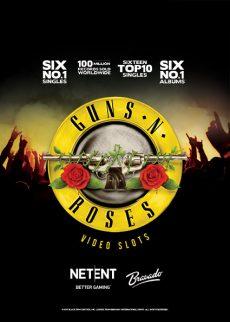 Guns N 'Roses - NetEnt slot for US players