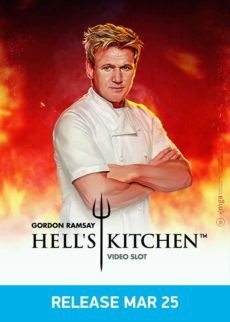 Hells kitchen - NetEnt slot for US players