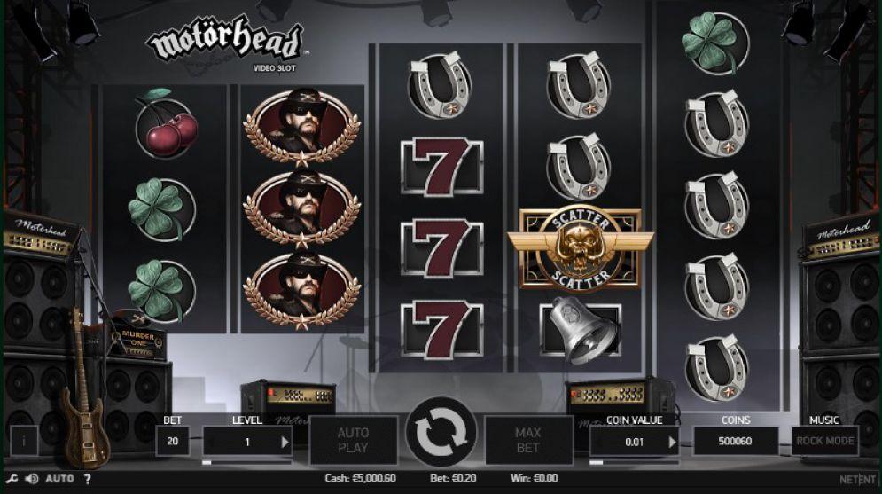 Motorhead NetEnt slot