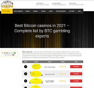 BitcoinCasinoTop-History-2021