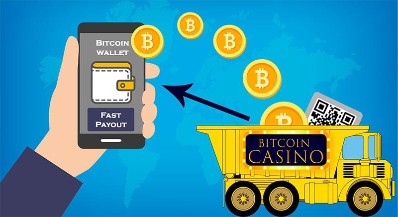 fast payout at bitcoin casino