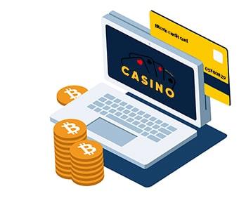 bitcoin casino credit card