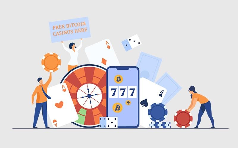 bitcoin casino free